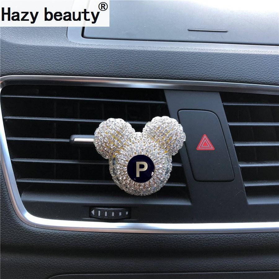 Мъниста красота Кола Лого мода Висококачествен автомобилен парфюм Ароматизатор Климатик, изход за въздух, парфюмни декорации