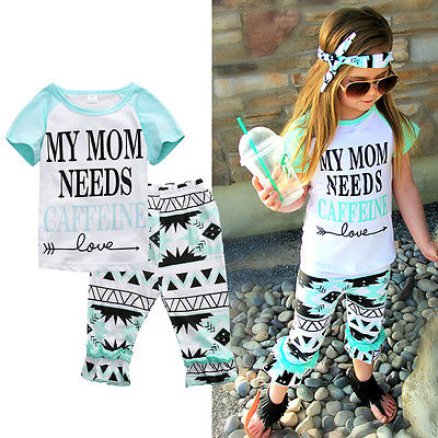 Drop shipping Girls Fashion floral casual suit children clothing set  outfit +headband 2016 summer kids clothes sets 2017 new fashion kids clothes off shoulder camo crop tops hole jean denim pant 2pcs outfit summer suit children clothing set