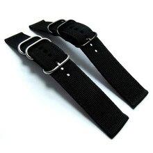 Fashion Canvas 20mm Wrist Watch Band Strap *3522 Brand New High Quality Luxury Free Shipping