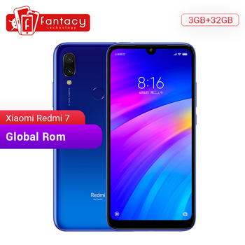 Global Rom Xiaomi Redmi 7 3GB RAM 32GB ROM Snapdragon 632 Octa Core