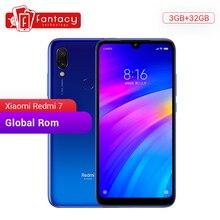 "Global Rom Xiaomi Redmi 7 3GB de RAM 32GB ROM Snapdragon 632 Octa Core 12MP Cámara Dual 6,26 ""HD teléfono móvil 4000mAh Batería grande"