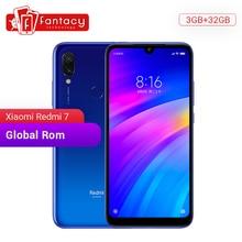 """הגלובלי Rom Xiaomi Redmi 7 3GB זיכרון RAM 32GB ROM Snapdragon 632 אוקטה Core 12MP כפולה מצלמה 6.26 """"HD נייד טלפון 4000mAh גדול סוללה"""