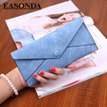 Wallet Women Purses Clutch Long Envelope Leather Wallet Female Thin Purse Coin Pocket Fashion Dollar Price Womens Purse Cartera