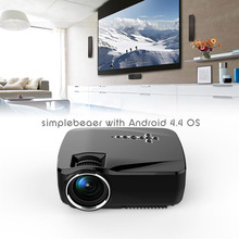 New style android proyector hdmi video projector home theatre led projector support DLNA, Miracast mini288A beamer