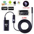 El envío gratuito! 6LED HD 720 P 3.5 M WiFi Endoscopio Impermeable Cámara de Inspección para ios y Android PC