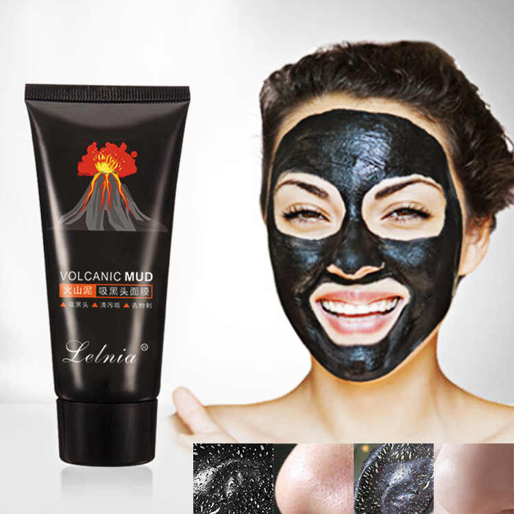 2017 Blackhead Removal Bamboo charcoal Black Mask Deep Cleansing Peel Off Mask Pores Shrinking Acne Treatment Oil-control