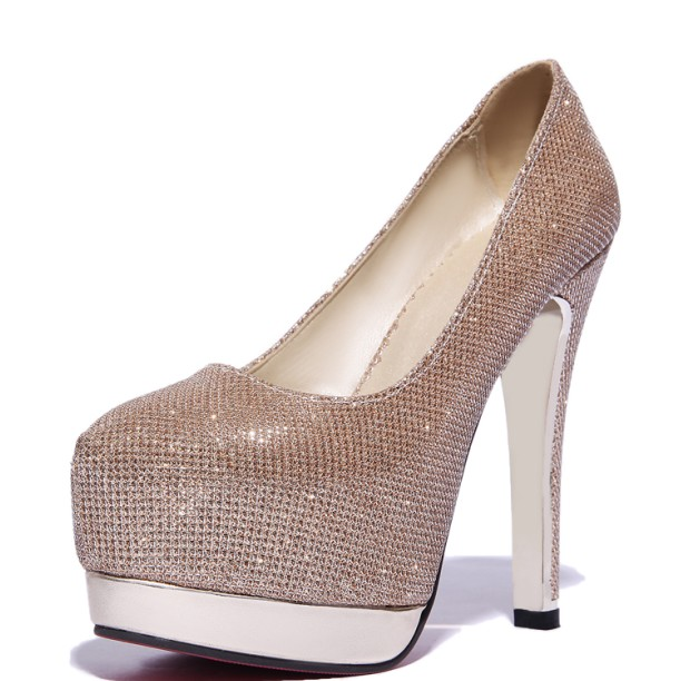 T Mujer De 33 Hauts blanc Bal Taille rose Tacon argent Bout Sexy Chaussures 8013 or Zapatos Mode Pompes Noir 47 Talons Plate À forme Rond Femmes HdFdq4w0