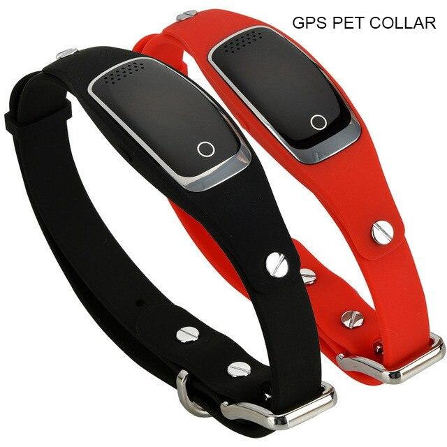 Водостойкий gps ошейник для собак устройство отслеживания домашних животных wifi gps LBS местоположение в режиме реального времени отслеживающе...