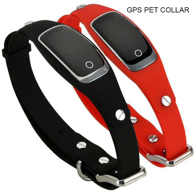 Gps resistente al agua perro collar pet rastreador WIFI GPS LBS ubicación en tiempo real dispositivo de seguimiento
