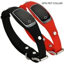 Водостойкий gps ошейник для собак устройство отслеживания домашних животных wifi gps LBS местоположение в режиме реального времени отслеживающее устройство