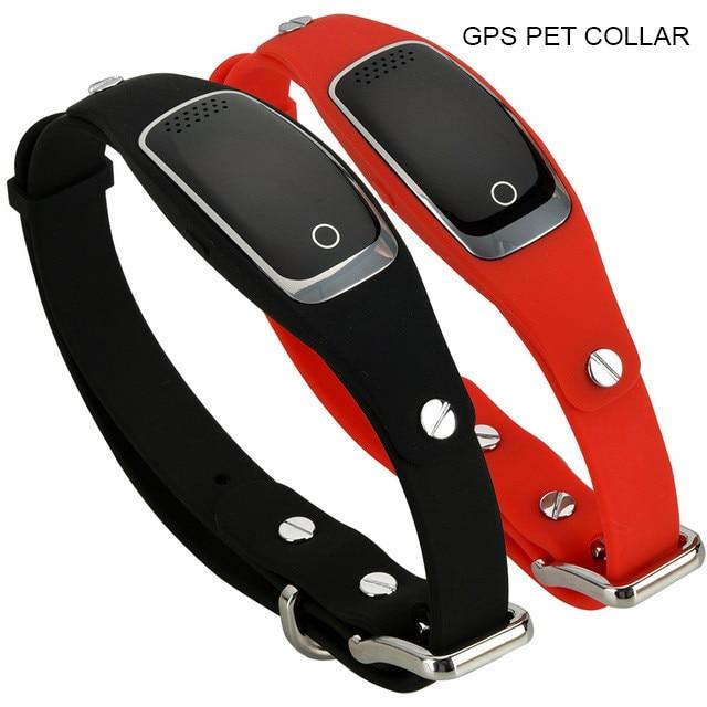 waterproof gps dog collar pet tracker WIFI GPS LBS location real time tracking device