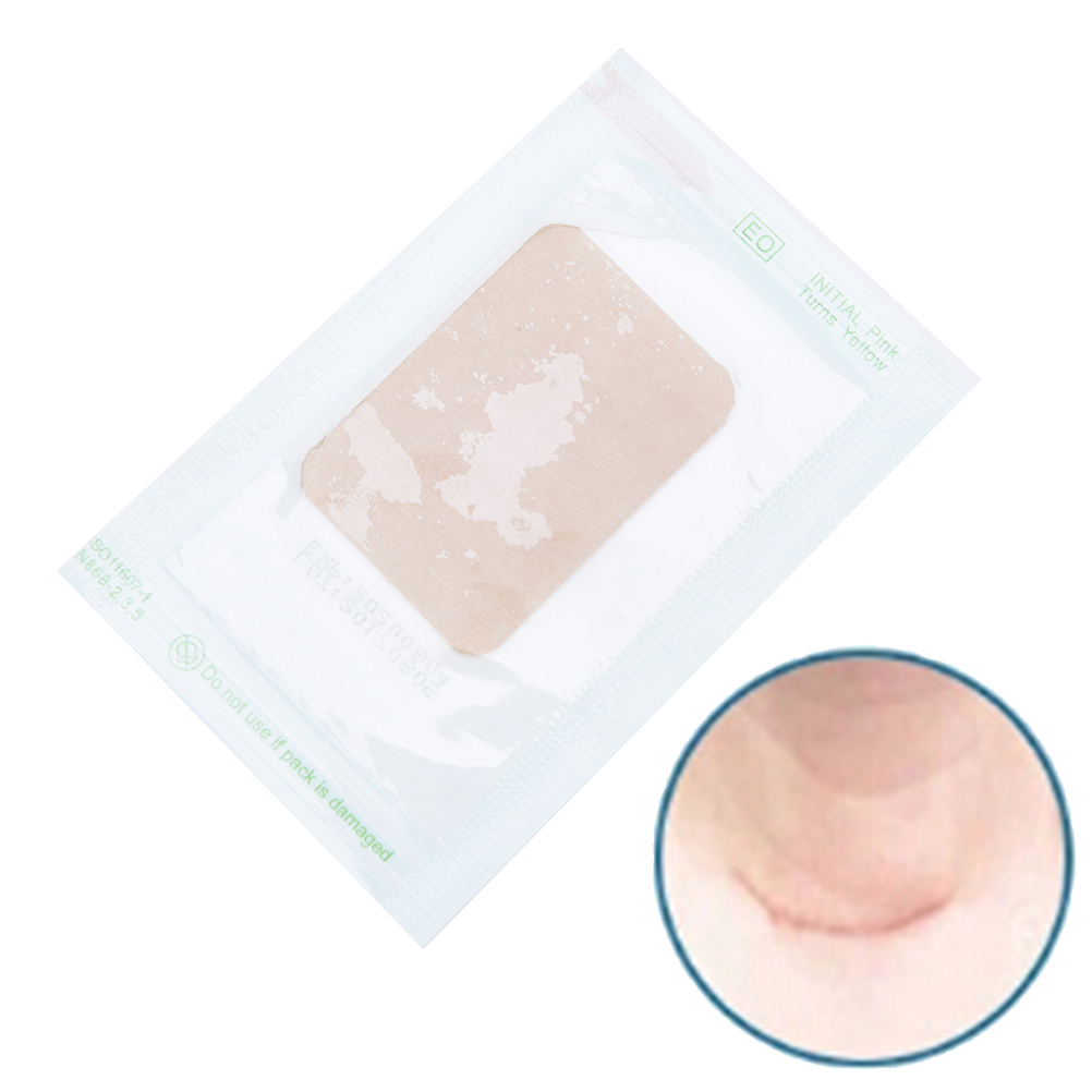 Skin Color Scar Away Patch Silicone Gel Sheet Wound Marks Therapy Treatment Removal Cesarean Keloid Skin Scars 5cm X 3.5cm X 2mm