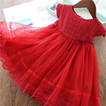 Girls Dresses 2019 Fashion Girl Dress Lace Floral Design Baby Girls Dress Kids Dresses For Girls Casual Wear Children Clothing 2