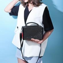 купить Female Crossbody Tote Bag Women 2019 Quality PU Leather Luxury Handbag Designer Sac A Main Ladies Diamond Shoulder Messenger Bag по цене 1054.47 рублей
