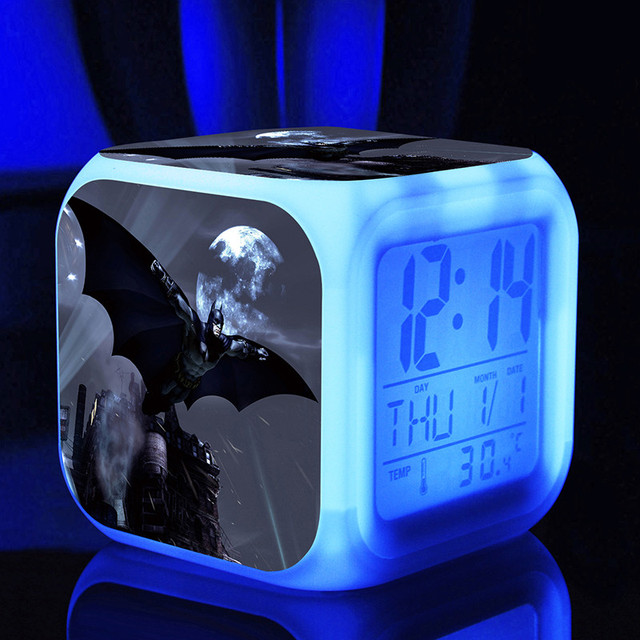 Glowing Batman Alarm