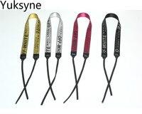 Yuksyne Off White Camera Handle Women Belt For SLR Cameras Woven Strap 5 Colors Holders For