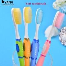 Два Загружалась Силиконовый Nano Взрослых Зубная Щетка с Мягкой Щетиной Мягкие Два Загруженных Пара Зубная Щетка Язык Скребок Зубы Щеткой(China (Mainland))