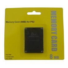 10 قطعة الكثير عالية الجودة 8 MB 16 MB 32 MB 64 MB 128 MB 256 MB بطاقة الذاكرة حفظ بيانات اللعبة عصا وحدة للبلاي ستيشن 2 ل PS2