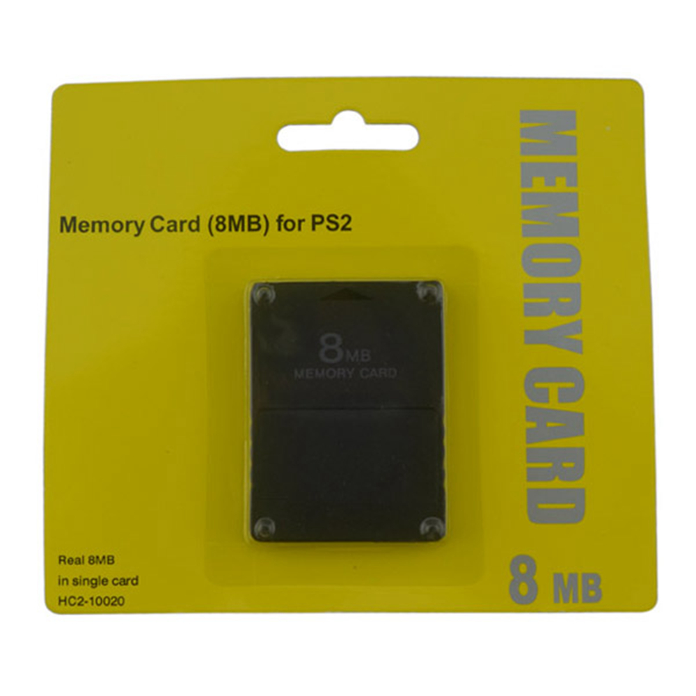10pcs a lot High Quality 8MB 16MB 32MB 64MB 128MB 256MB Memory Card Save Game Data Stick Module for Playstation 2 for PS2
