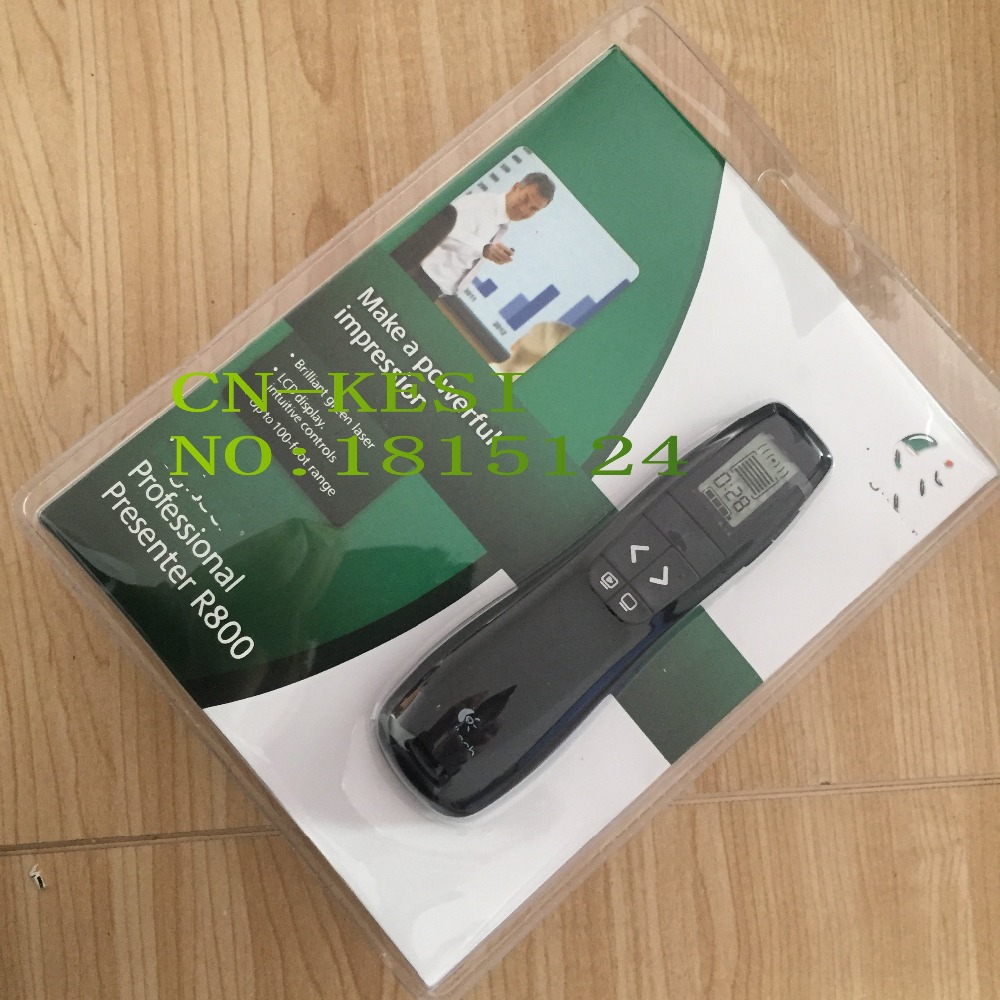 FIT For Logitech Professional Presenter R800 Built In Class 2 redness Laser Pointer 2 4GHz RF