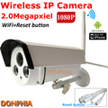 Акция! водонепроницаемый 2-МЕГАПИКСЕЛЬНОЙ 1080 P HD Беспроводная Ip-камера Wi-Fi Открытый ONVIF CCTV Камеры Ночного Видения ИК Главная Видеонаблюдения