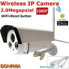 2mp 1080 p hd kamera ip videcam wi-fi wireless outdoor onvif kamera cctv nadzoru wideo cyfrowe sony czujnik obrazu