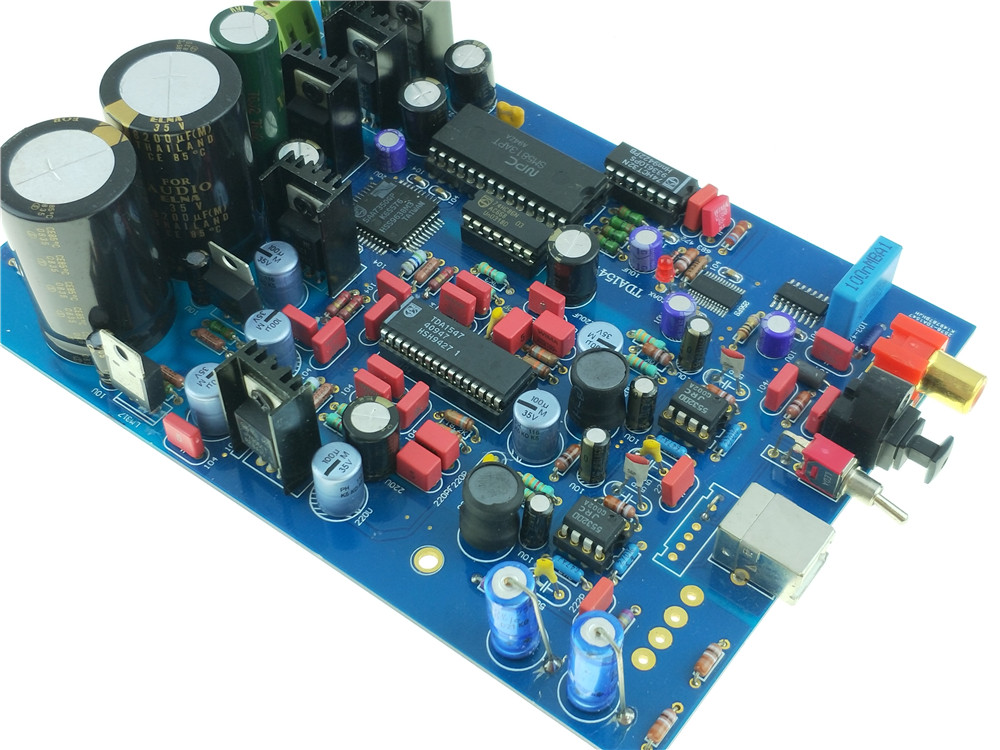 Dac Leory Dc 5v-10v Dac Decoder Module I2s Player 32bit 384k Assembled Board A2-012for Bd Player Hdtv Amplifier Always Buy Good