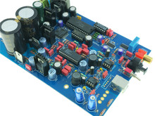 New TDA1547 DAC assembled board 16Bit 48Khz for HIFI audio decoder upgrade TDA1541
