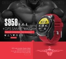 GPS Smart Watch S958 Pedometer Fitness Tracker Heart Rate Monitor Smartwatch WiFi Sports Waterproof Watch Support SIM TF Card
