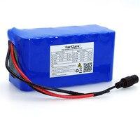 24 v 6Ah 7S3P 18650 Bateria li-ion battery pack 29.4 v 6000 mah baterias de Iões de lítio bicicleta Elétrica ciclomotor