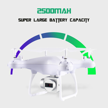 2.4GHz Wifi FPV 2.0MP Full HD 2.0MP 720p 20min 6 Axis 4CH Wireless Drone Altitude Hold Powerful One Key Landing Quadcopter Gift