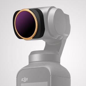 Image 5 - Djiポケット/2フィルターアジャスタブルuv + cpl + ND4 + 8 + 16 + 32フィルターosmoポケットndフィルタージンバルアクセサリーセット