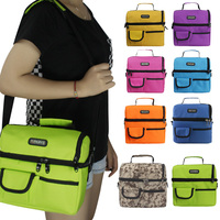 Large Thicken Folding Fresh Keep Waterproof Oxford Cloth Cooler Lunch Bag Thermal Insulation Pack For Steak