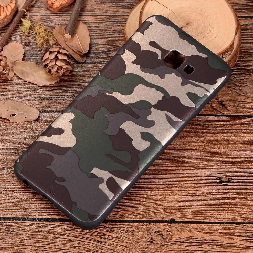 J4 Core Quân Đội Màu Xanh Lá Cây Ngụy Trang Mềm TPU Silicone Trường Hợp đối Với Samsung J2 J3 J4 J5 J6 J7 J8 A3 A5 a6 A7 A8 A9 2018 S10 Cộng Với Capa Trường Hợp