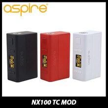 ของแท้100วัตต์Aspire NX100 TCบุหรี่อิเล็กทรอนิกส์สมัยกล่องสมัยTC/VWโหมดw/0.96นิ้วTFTหน้าจอ