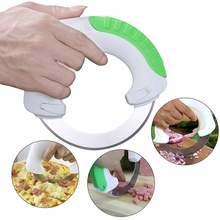 Saim Rollenden Messer Küchenhelfer multifunktions Rund Rollenden Messer Edelstahl Rad Messer Cutter Gemüseschneider