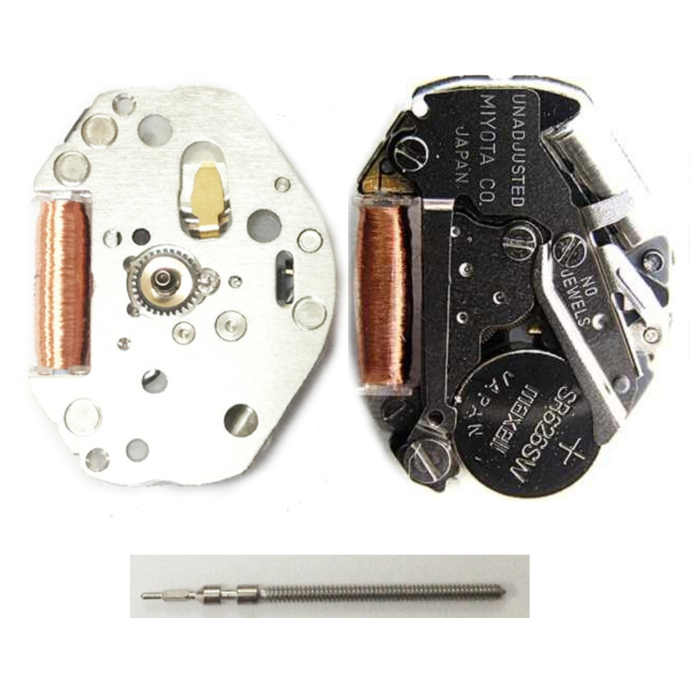 Wholesale 10pcs NEW Japan Miyota 2035 Quartz Watch Movement Battery Included Replace Repair