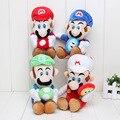 17 см 4 стилей Супер Марио Ледяной Цветок Луиджи Super Mario Bros Плюшевые игрушки Куклы