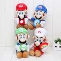 17cm 4styles Super Mario Ice Flower Luigi Super Mario Bros Plush toy Doll