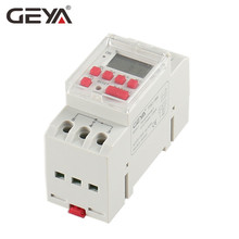 Free Shipping GEYA THC-20A Programmable Timer with Battery 7 Day Time Switch 20A DC Timer 12V 24V110V 220V 240V