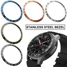 46mm Classic Styling Bezel Ring Adhesive Cover Stainless Steel Metal Anti Scratch Protection Accessory for Samsung Galaxy Watch(China)