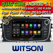 WITSON Quad Core Android 5.1 CAR RADIO for FORD MONDEO FOCUS S-MAX GALAXY RADIO +CAPACTIVE SCREEN+DVR/WIFI/3G+DSP+RDS+16GB flash