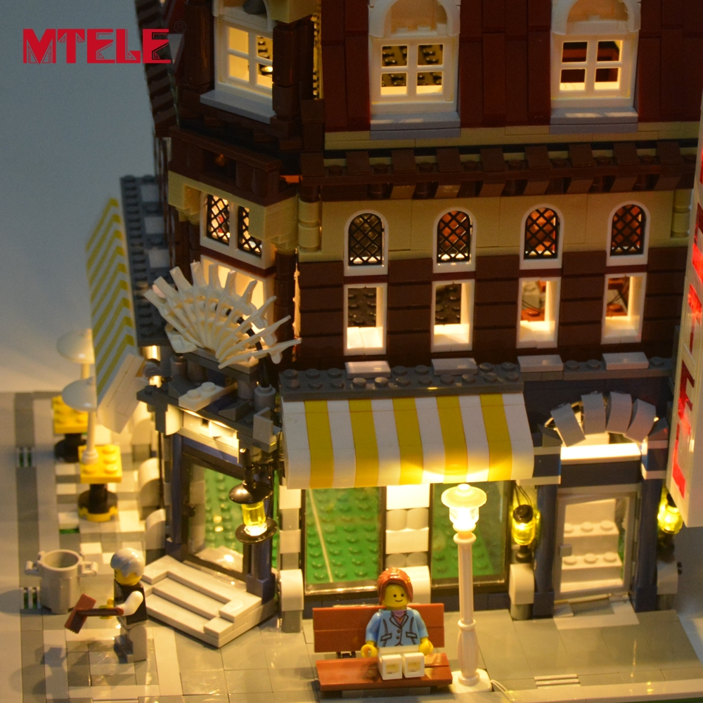 lego lighting. MTELE Brand LED Light Up Kit For Create Cafe Corner Lighting Set Compatible With Lego 10182-in Blocks From Toys \u0026 Hobbies On Aliexpress.com | Alibaba Group