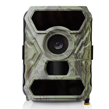 (1set)12MP FHD Digital Trail Camera with 100 FOV lens 56pcs 60 IR LEDs 0.4 Seconds Trigger Time3 Burst within 1Second Multi-Shot
