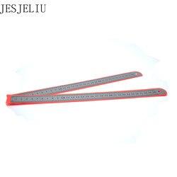 Edelstahl Metall Ruler Metric Regel Präzision Doppelseitige Messwerkzeug 30 cm Großhandel