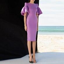 Женское офисное платье карандаш Роскошное дизайнерское модельное