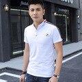 2016 Men Polo Shirt Men Summer Short Sleeve Solid Polo 3 COLORS Fashion Casual Huaosgoes cotton  Polo