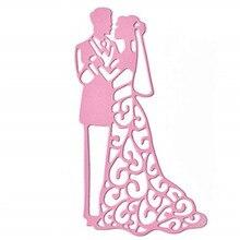 Wedding decoration Bride Groom Metal Cutting Dies Stencils For DIY Scrapbooking Card Love