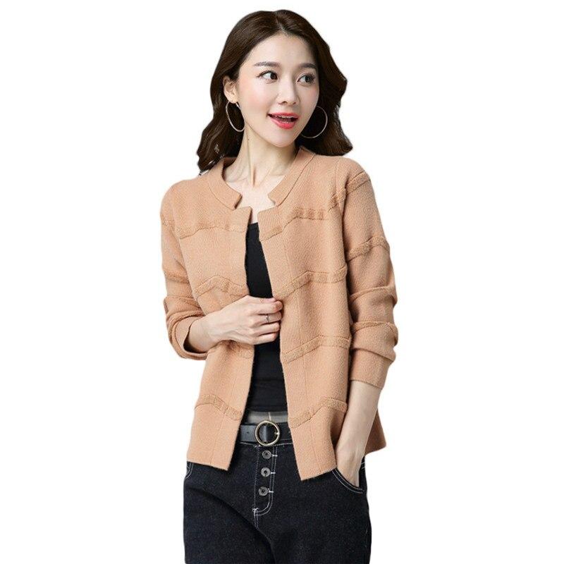 2017 New Spring Autumn Korean Loose Sweater Coats Women Cardigan Jacket Fall Fashion Short Paragraph Shawl Knitted Sweater Z61