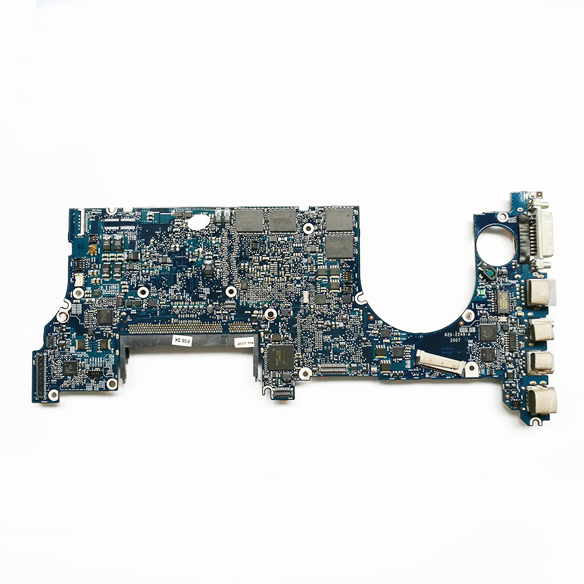 2pcs/lot 661-4960 For Macbook Pro 15 A1260 Logic Board motherboard system board 2.4GHz T8300 820-2249-A Early 2008 Tested i o board usb sd card reader board 820 3071 a 661 6535 for macbook pro retina 15 a1398 emc 2673 mid 2012 early 2013